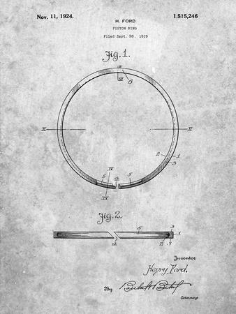 Ford Piston Ring Patent