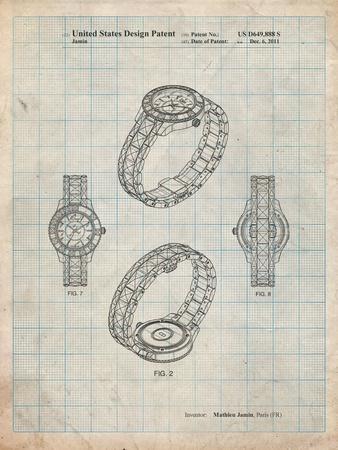 Luxury Watch Patent