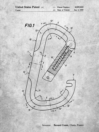 Oval Carabiner Patent