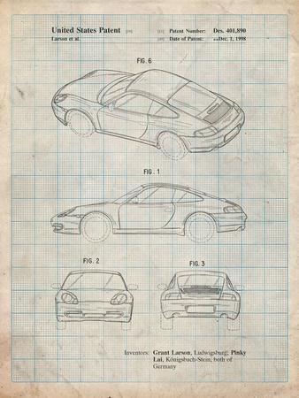 199 Porsche 911 Patent