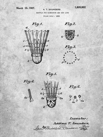 Badminton Shuttle Patent