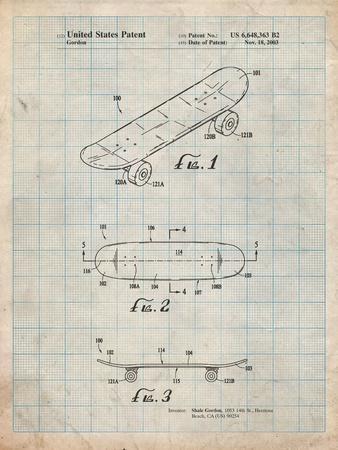 Double Kick Skateboard Patent