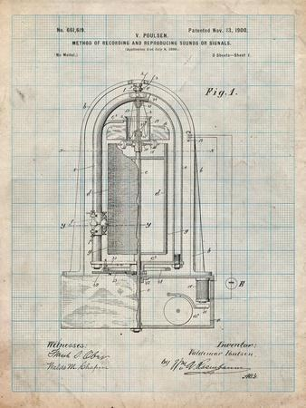 Recording Device Patent 1900