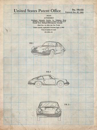 1964 Porsche 911 Patent