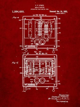 Bread Toaster Patent