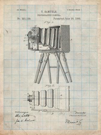 Iconic Photographic Camera 1885 Patent