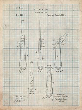 Flat Head Screw Driver Patent