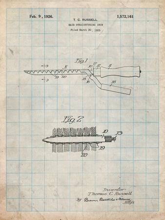 Curling Iron 1925 Patent