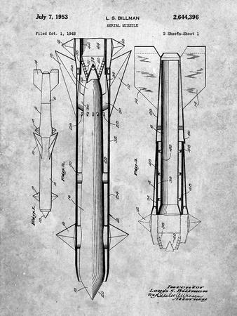 Aerial Missile Patent 1948