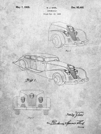 GM Cadillac Concept Design Patent