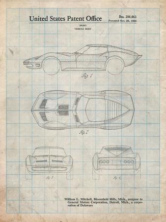 Corvette 1966 Mako Shark II Patent