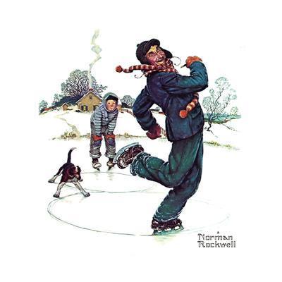 Grandpa and Me: Ice Skating