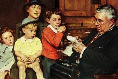 When the Doctor Treats Your Child (or Doctor Checking up Children)