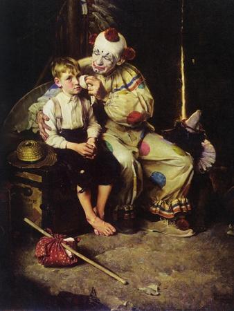The Runaway (or Runaway Boy and Clown)
