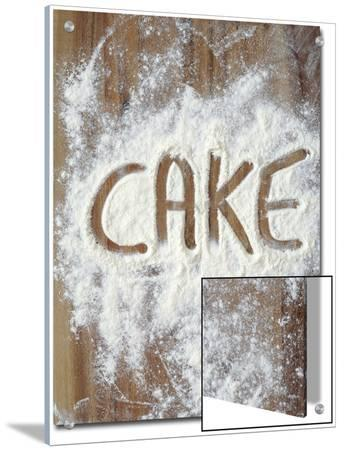 Word Cake in Flour