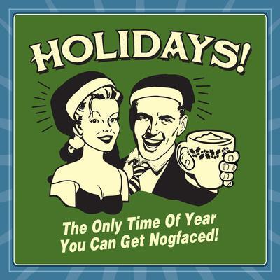 Holidays Nog Faced