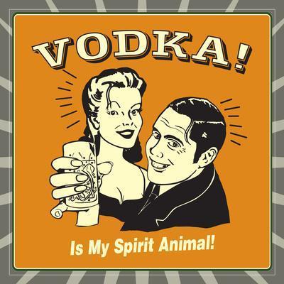 Vodka Spirit Animal