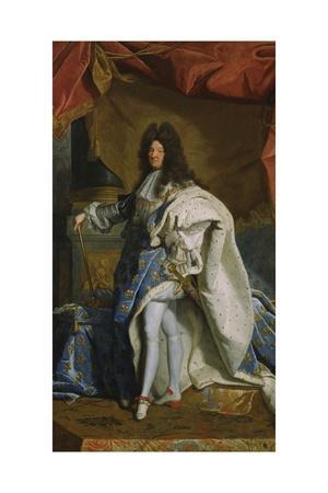 Portrait of Louis XIV, 1701