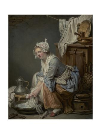 The Laundress, 1761