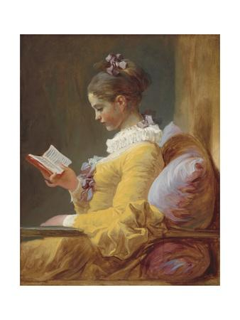 Young Girl Reading, C. 1770