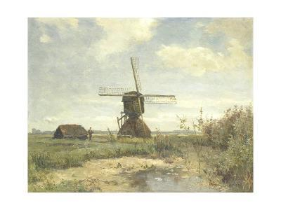 Sunny Day, a Mill to a Waterway, C. 1860-1903