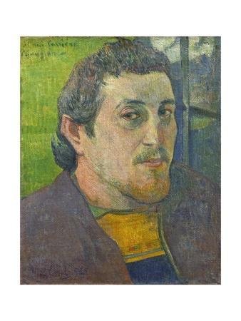 Self-Portrait Dedicated to Carriere, 1888-89