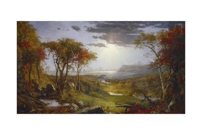 Autumn-On the Hudson River, 1860