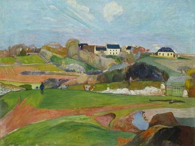 Landscape at Le Pouldu, 1890