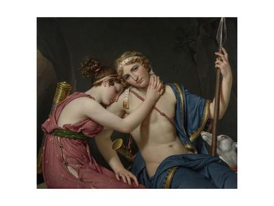 Farewell of Telemachus and Eucharis, 1818