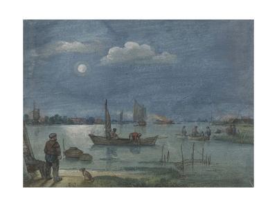 Fishermen by Moonlight, 1595-1634