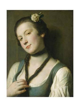 A Girl with a Flower in Her Hair, 1760-62