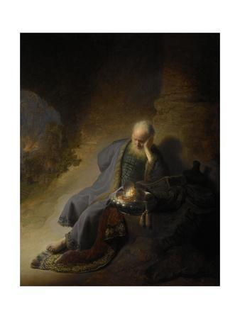 Jeremiah Lamenting the Destruction of Jerusalem, 1628