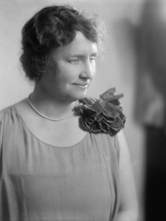 Helen Keller, Ca. 1920