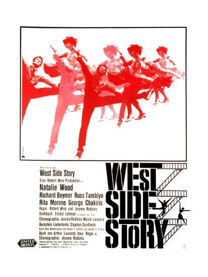 West Side Story German Poster Art 1961 Giclee Print At AllPosters