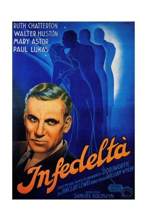 Dodsworth, Walter Huston, 1936