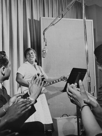 Sister Rosetta Tharpe, 'Godmother of Rock N' Roll', Performing in an Mgm Studio in 1961