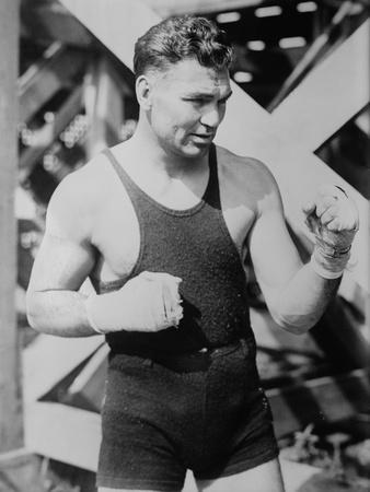 Jack Dempsey, the World Heavyweight Boxing Champion from 1919 to 1926