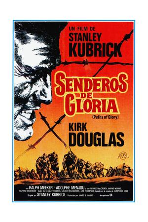 Paths of Glory, (AKA Senderos De Gloria), Kirk Douglas, 1957
