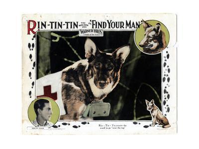 Find Your Man, Eric St. Clair, Rin Tin Tin, 1924