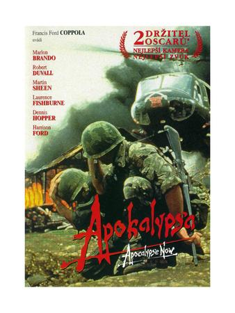 Apocalypse Now, (aka Apocalypsa), Czech Republic Poster Art, 1979