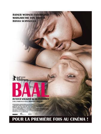 Baal, French Poster, Rainer Werner Fassbinder, Margarethe Von Trotta, 1970
