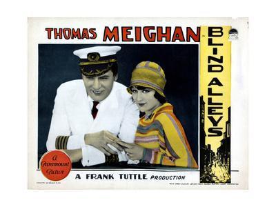 Blind Alleys, from Left, Thomas Meighan, Evelyn Brent, 1927
