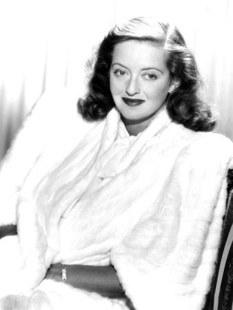 Bette Davis, Ca. Late 1940s