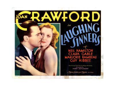 Laughing Sinners, from Left, Neil Hamilton, Joan Crawford, 1931