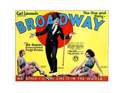Broadway, Evelyn Brent, Glenn Tryon, Merna Kennedy, 1929