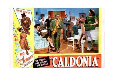 Caldonia, Louis Jordan, Nicky O'Daniel, the Tympany Five, 1945