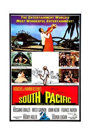 South Pacific, Rossano Brazzi, Mitzi Gaynor, 1958