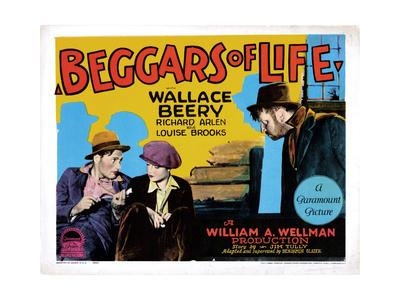 Beggars of Life, Richard Arlen, Louise Brooks, Wallace Beery, 1928