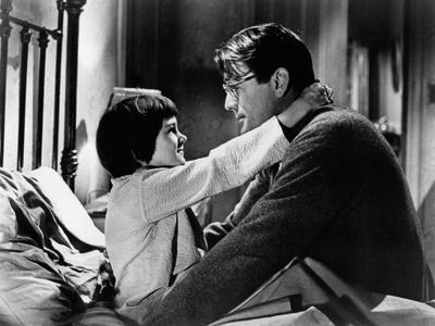 To Kill a Mockingbird, from Left: Mary Badham, Gregory Peck, 1962