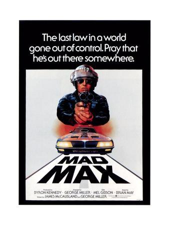 Mad Max, Mel Gibson, 1979